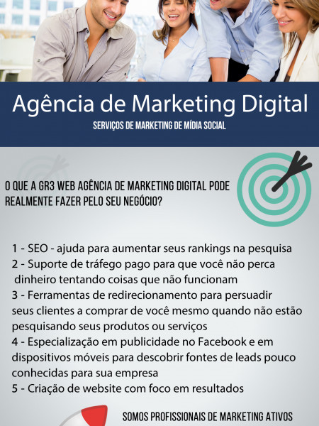 Apresentação Marketing Digital Infographic