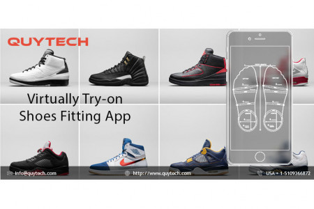 AR  Try-on Shoe App Infographic