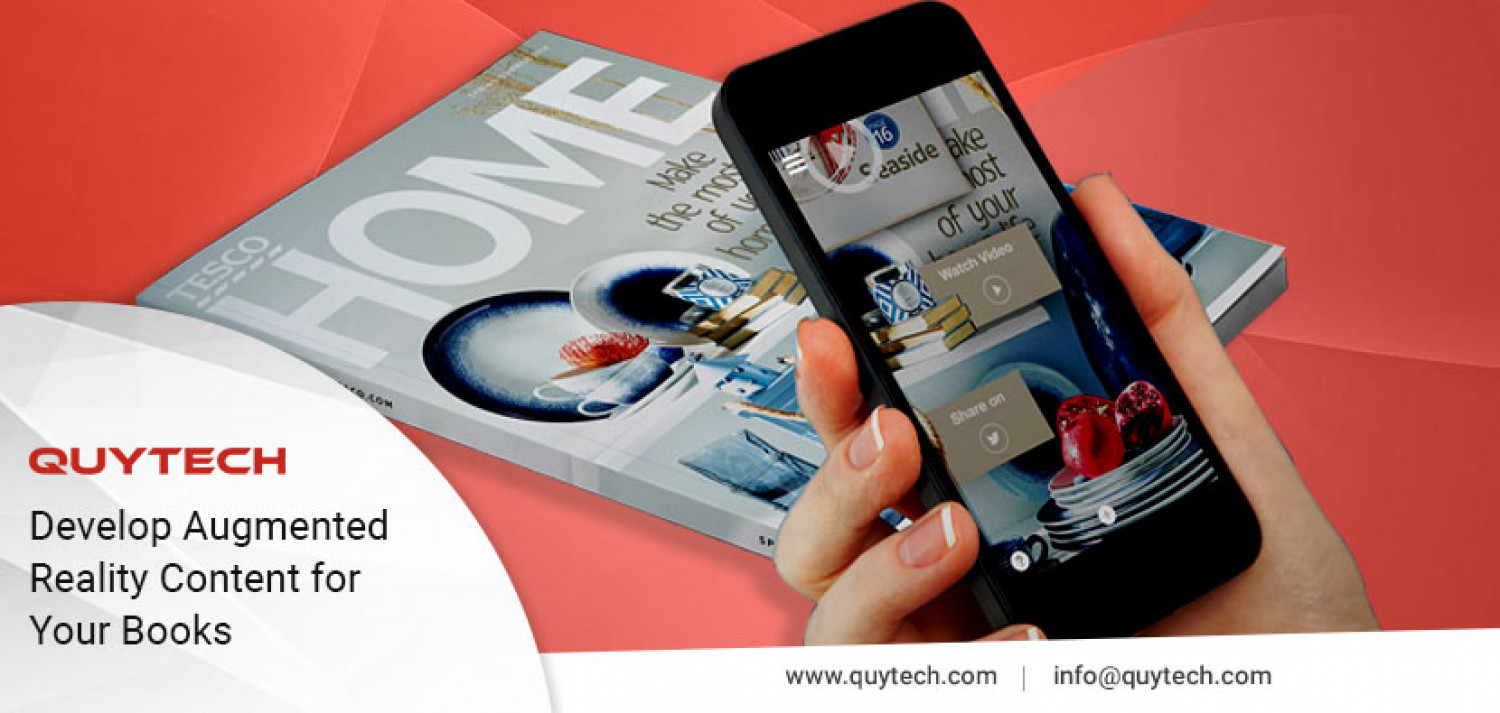 AR App For Publishing Sector Infographic