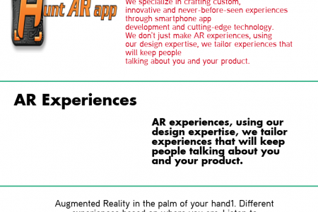 AR Experiences Infographic