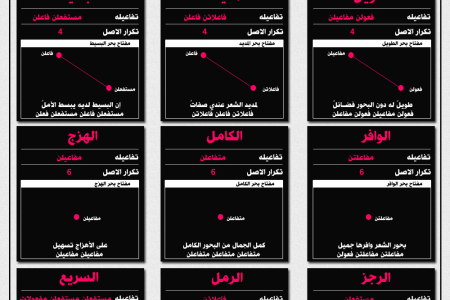 Arabic Poetry Infographic