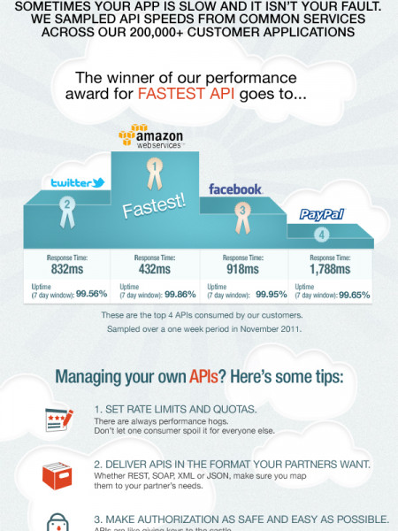Are External Services Slowing You Down?  Infographic