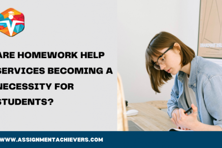 ARE HOMEWORK HELP SERVICES BECOMING A NECESSITY FOR STUDENTS? Infographic