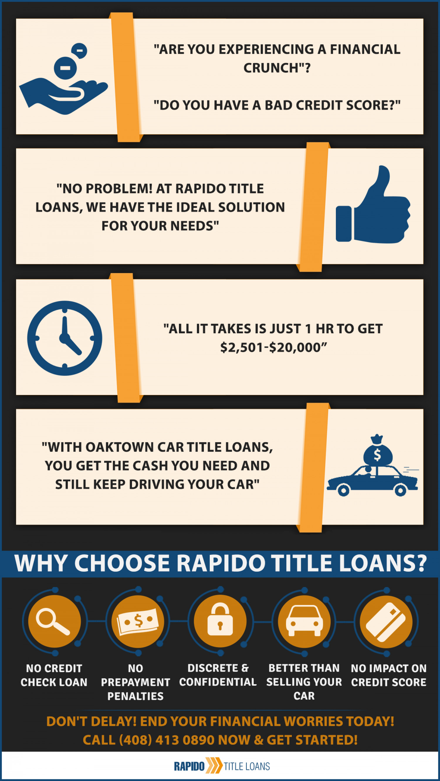 Are You Experiencing a Financial Crunch? Infographic