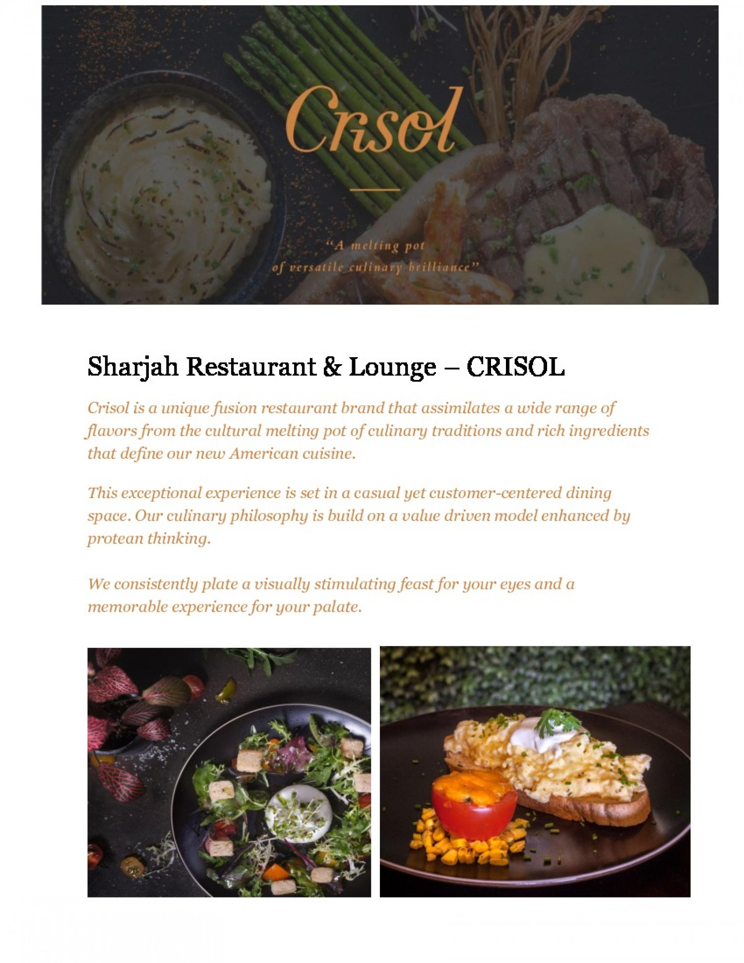 Are you looking best restaurant in sharjah? Infographic