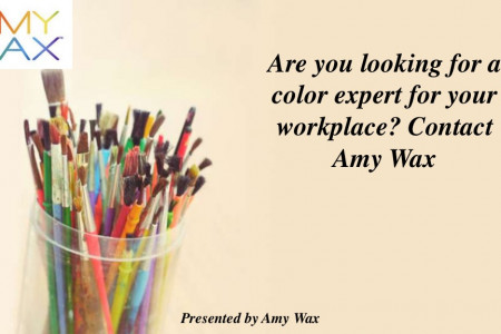 Are you looking for a color expert for your workplace? Contact Amy Wax Infographic