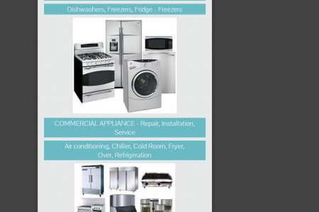 Are you Looking for commercial and domestic appliances repair? Infographic