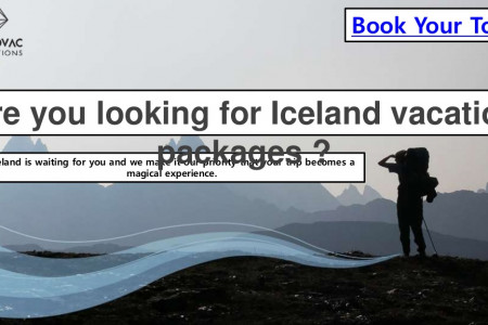 Are you looking for Iceland vacation packages? Infographic