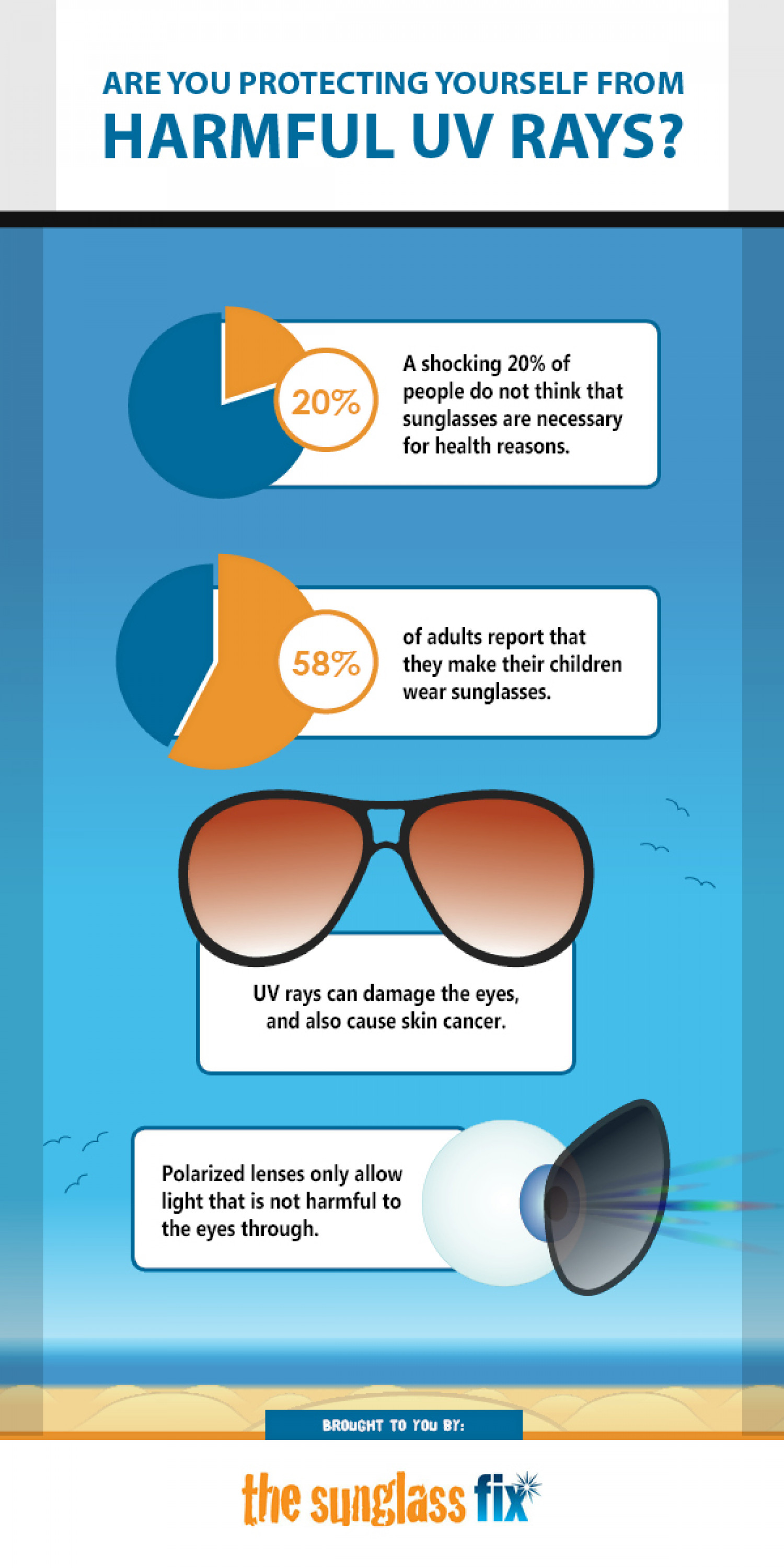 Are You Protecting Yourself From Harmful UV Rays? Infographic