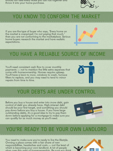 Are You Ready To Buy A Home? Infographic