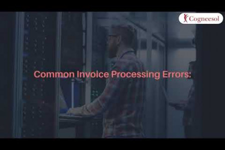Are you struggling with errors in invoice processing? Outsource it! Infographic