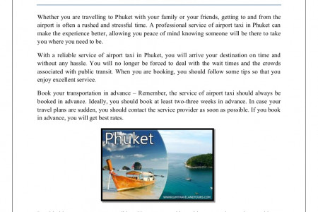 Are you visiting phuket with your loved ones Infographic