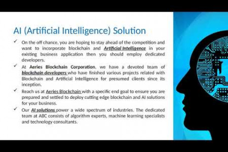 Artificial Intelligence or AI Solutions for managing projects in smarter ways Infographic