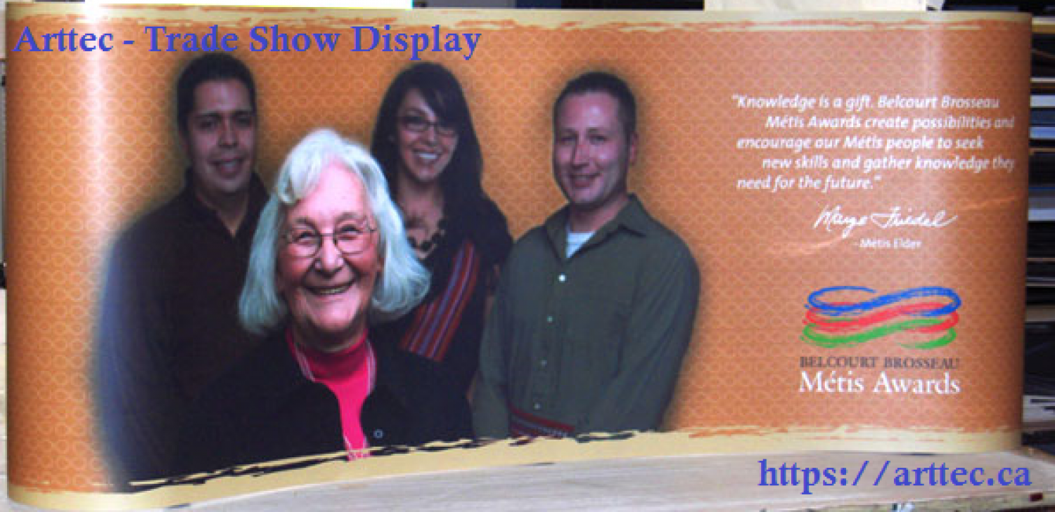 Arttec- Trade Show Display  Infographic