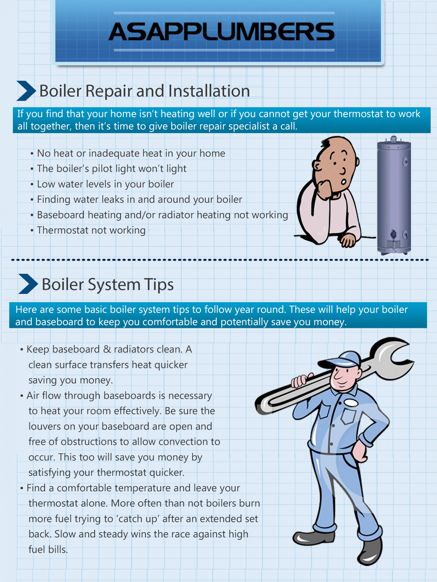 ASAP Plumbers Infographic