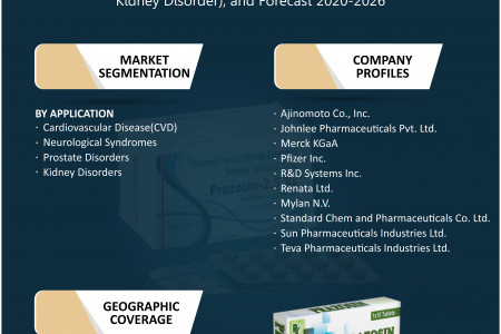 Asia-Pacific Prazosin Market Size, Share, Growth, Research and Forecast 2020-2026 Infographic