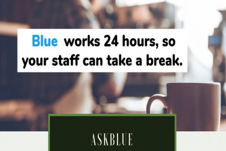 AskBlue Revolutionizing the Hotel by Smarter Guest Experience Infographic