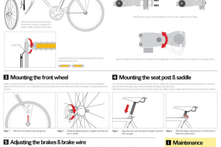 Assembling my bicycle Infographic