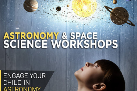 Astronomy &Space Science Workshops Infographic