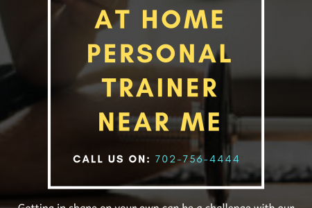 At Home Personal Trainer near me Infographic