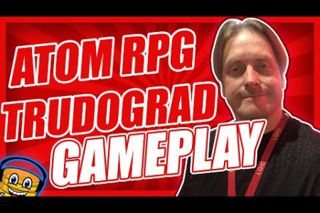 ATOM RPG Trudograd 1st Gameplay Steam Game Supercool Infographic