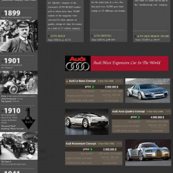 Audi The Gaint In Luxury Car Market Visual Ly