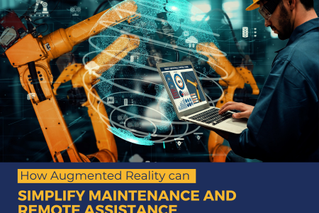 Augmented Reality Remote Assistance Infographic