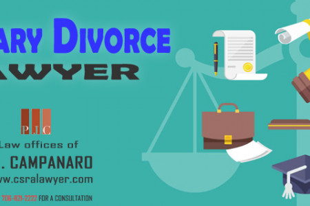 Augusta Military Divorce Lawyer | PJ Campanaro Infographic
