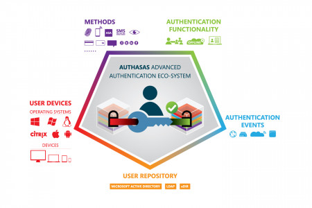 Authentication Eco-system Infographic