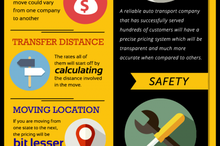 Auto Transport Infographic