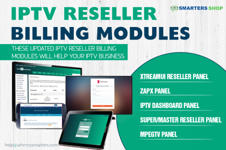 AUTOMATED IPTV BILLING MODULES FOR RESELLER  Infographic