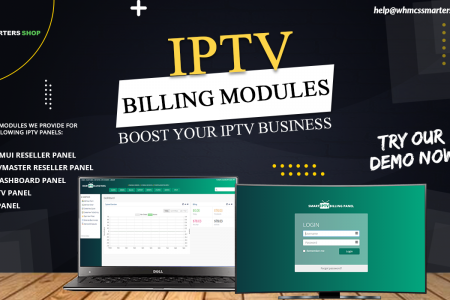 AUTOMATED IPTV BILLING MODULES Infographic