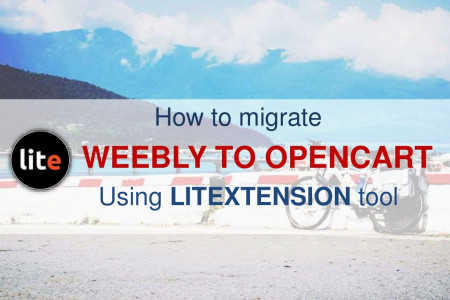 [Automated migration] Export Weebly to OpenCart Infographic