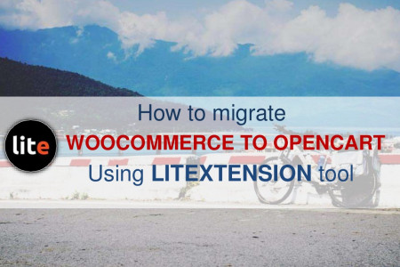 [Automated migration] Export WooCommerce to OpenCart Infographic