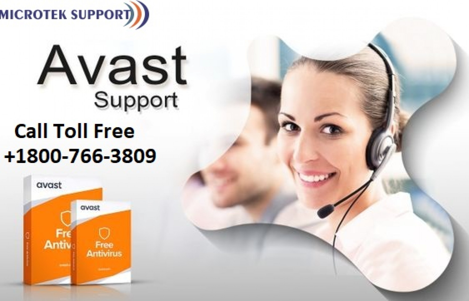 Avast Customer Care Support Number Infographic