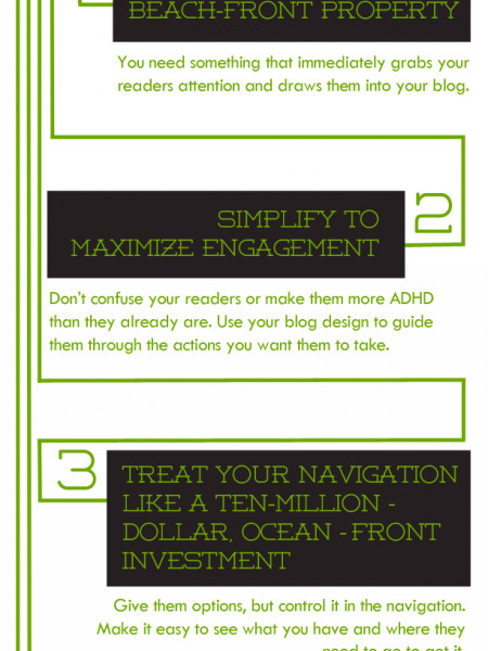 Have a better blogging experience by avoiding these crazy blog design mistakes using these 5 awesome tweaks! Infographic