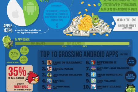 Awesome Collection From 2013 apps Infographic