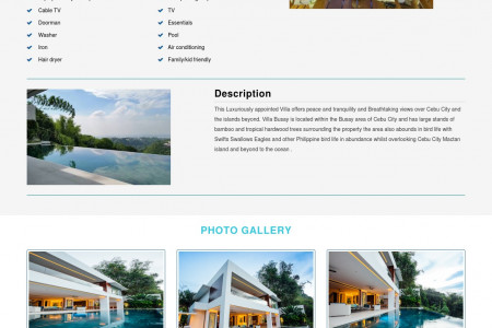 Awesome Luxury Villas in Philippines  Infographic