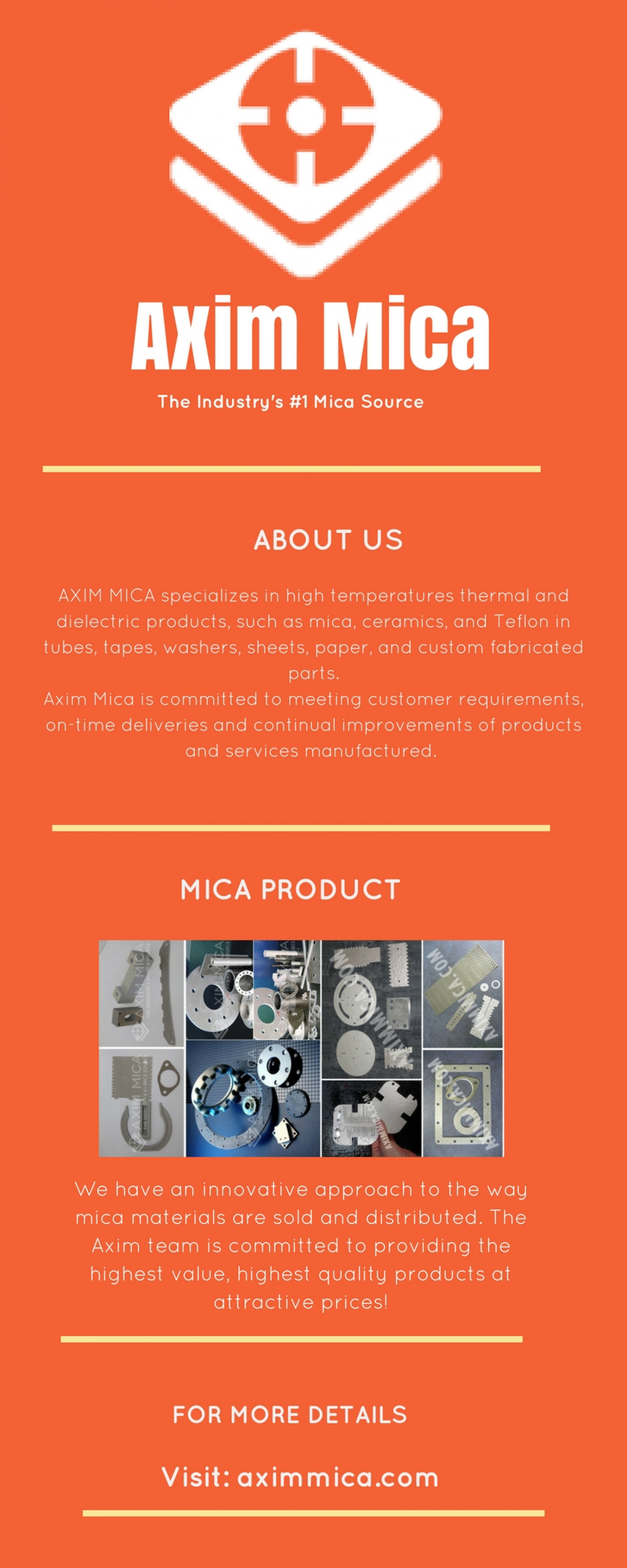 Axim Mica: Best Mica Material and Mica Product Supplier Infographic