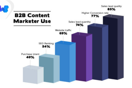 B2B Content Marketer Infographic