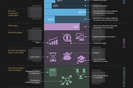 B2B Leaders 2013: Marketing from the top Infographic