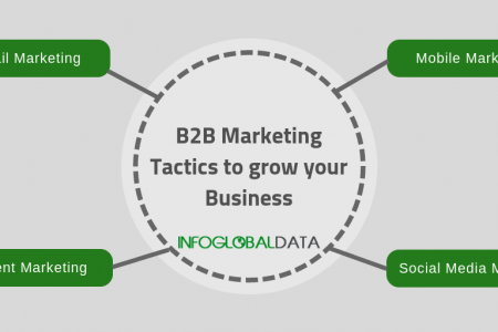 B2B Marketing Tactics That Can Help Your Business Grow Infographic