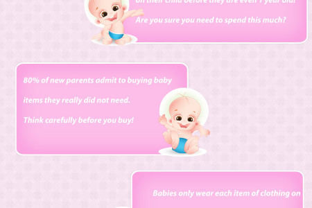 Baby Budgeting Tips Infographic