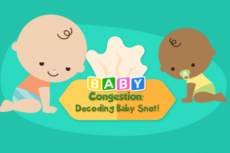 Baby Congestion: Decoding Baby's Snot! Infographic