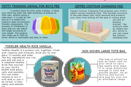 Baby Products We Couldn't Live Without Infographic