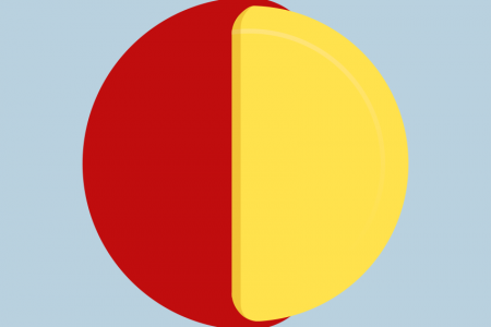 Babybel Pie Chart Infographic