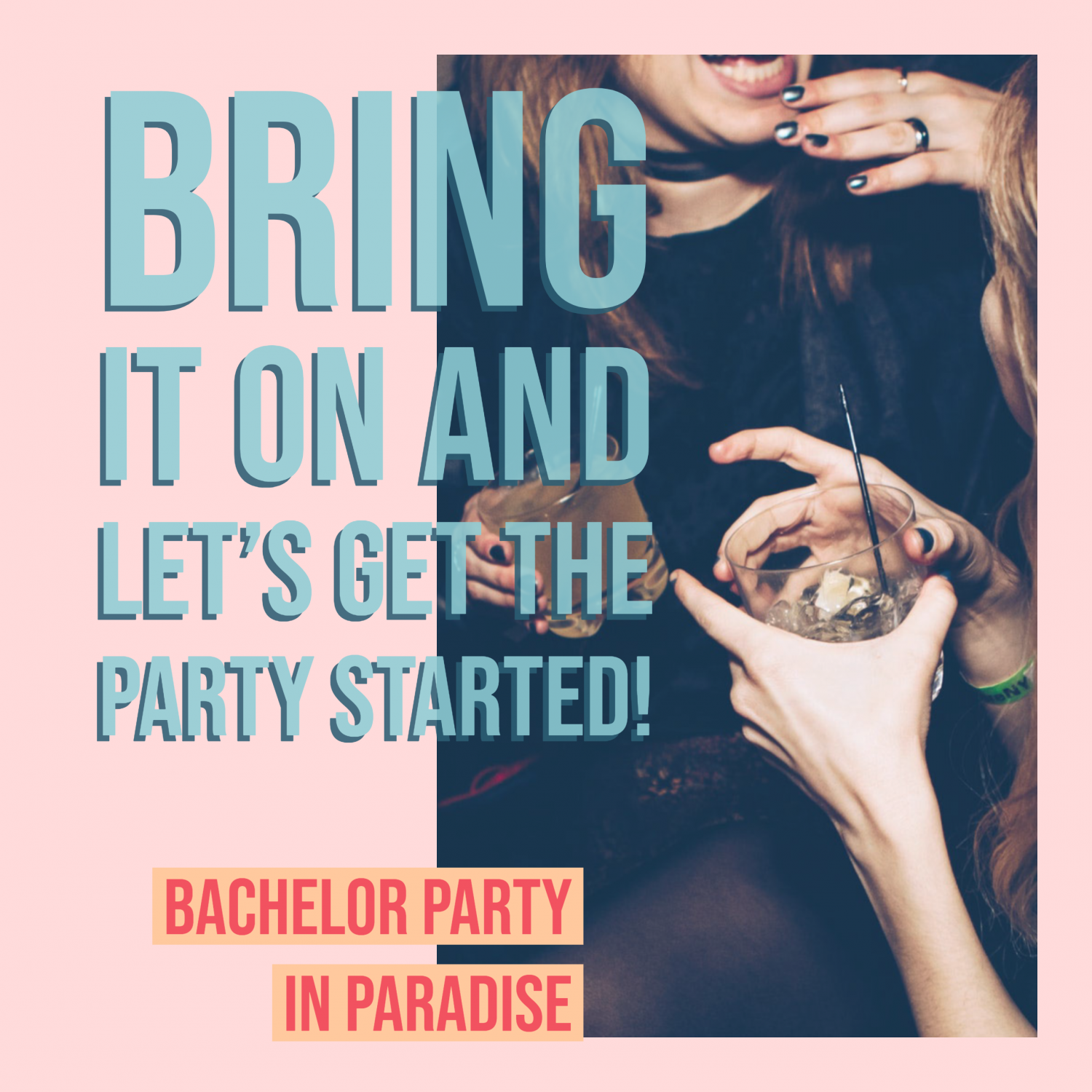 Bachelor Party Resort in Dominican Republic Infographic