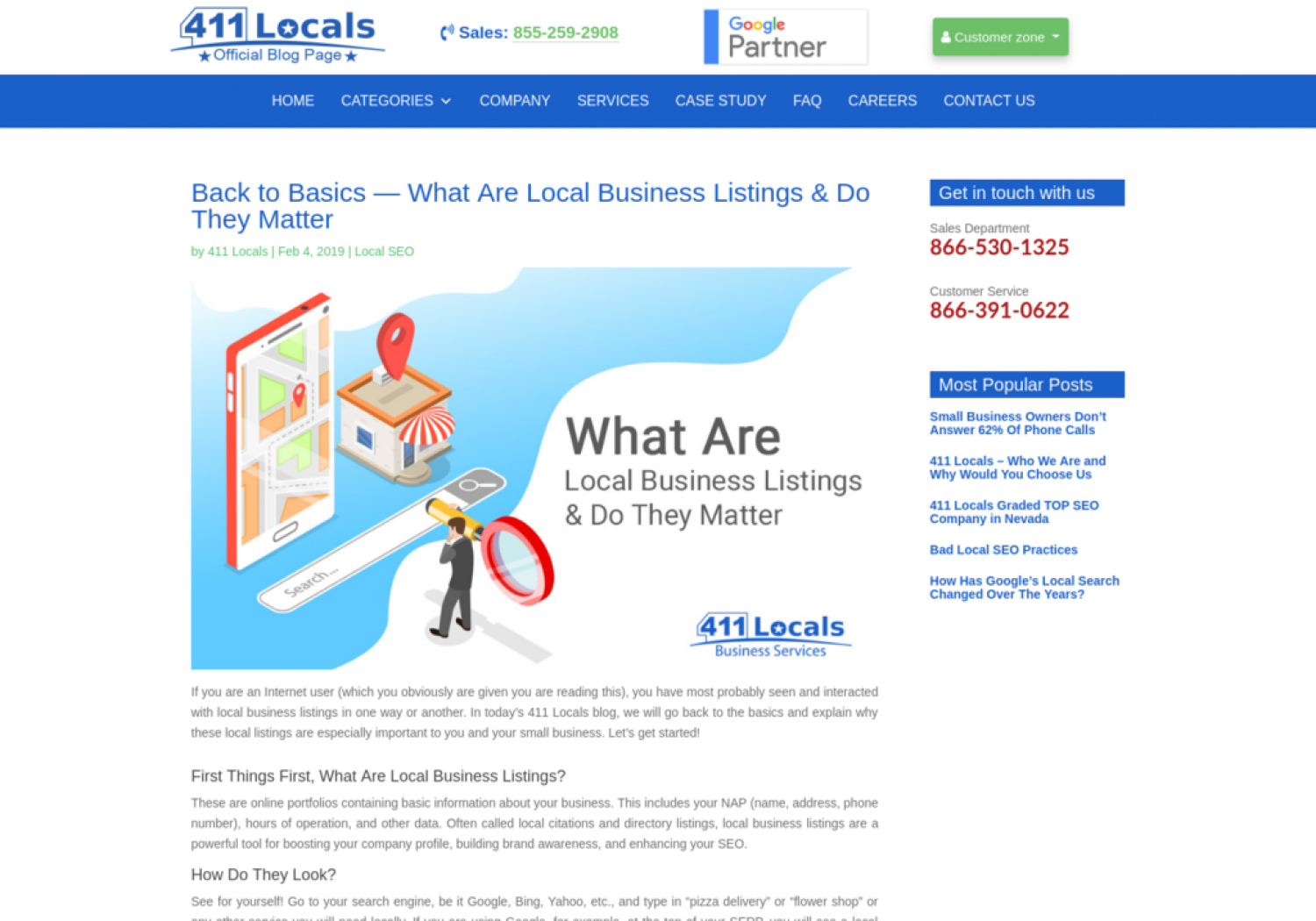 Back to Basics — What Are Local Business Listings & Do They Matter Infographic