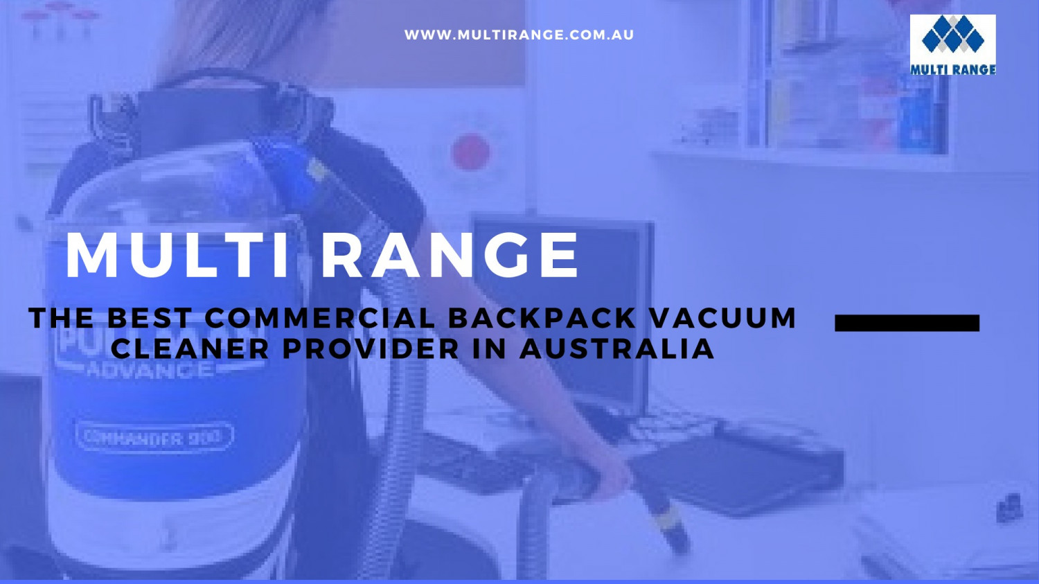 Backpack Vacuum Cleaner Multi Range Infographic