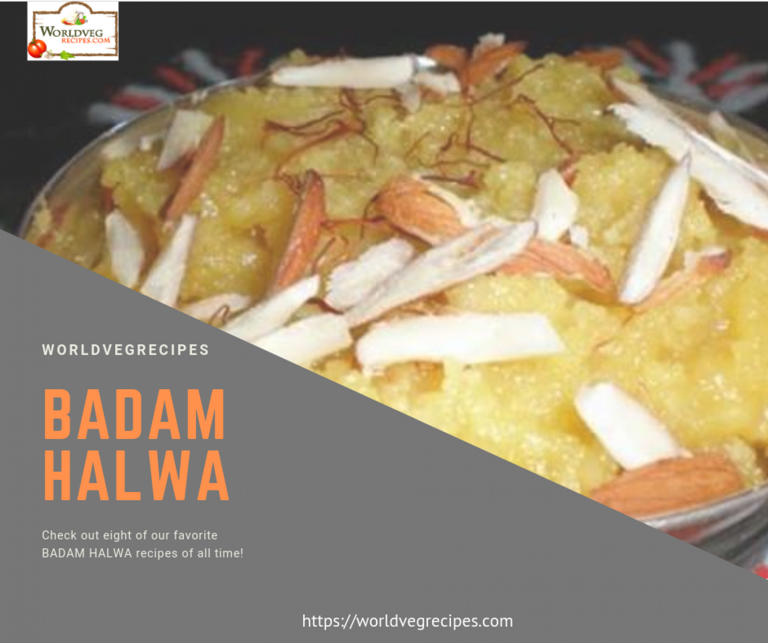 Badam Halwa Indian Dessert Recipe Infographic